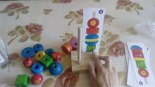 Деревянные игрушки. Обзор игр для детей от года до трех. Часть 1