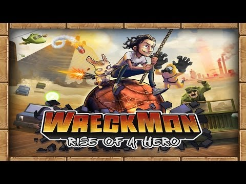 WreckMan: Rise of a Hero - iOS / Android - HD Gameplay Trailer