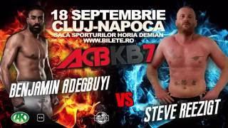 Teaser 1 Benny Adegbuy vs. Steve Reezigt   ACBKB7