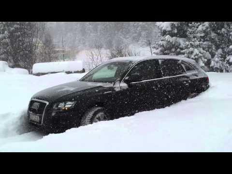Audi Q5 quattro snow snow snow