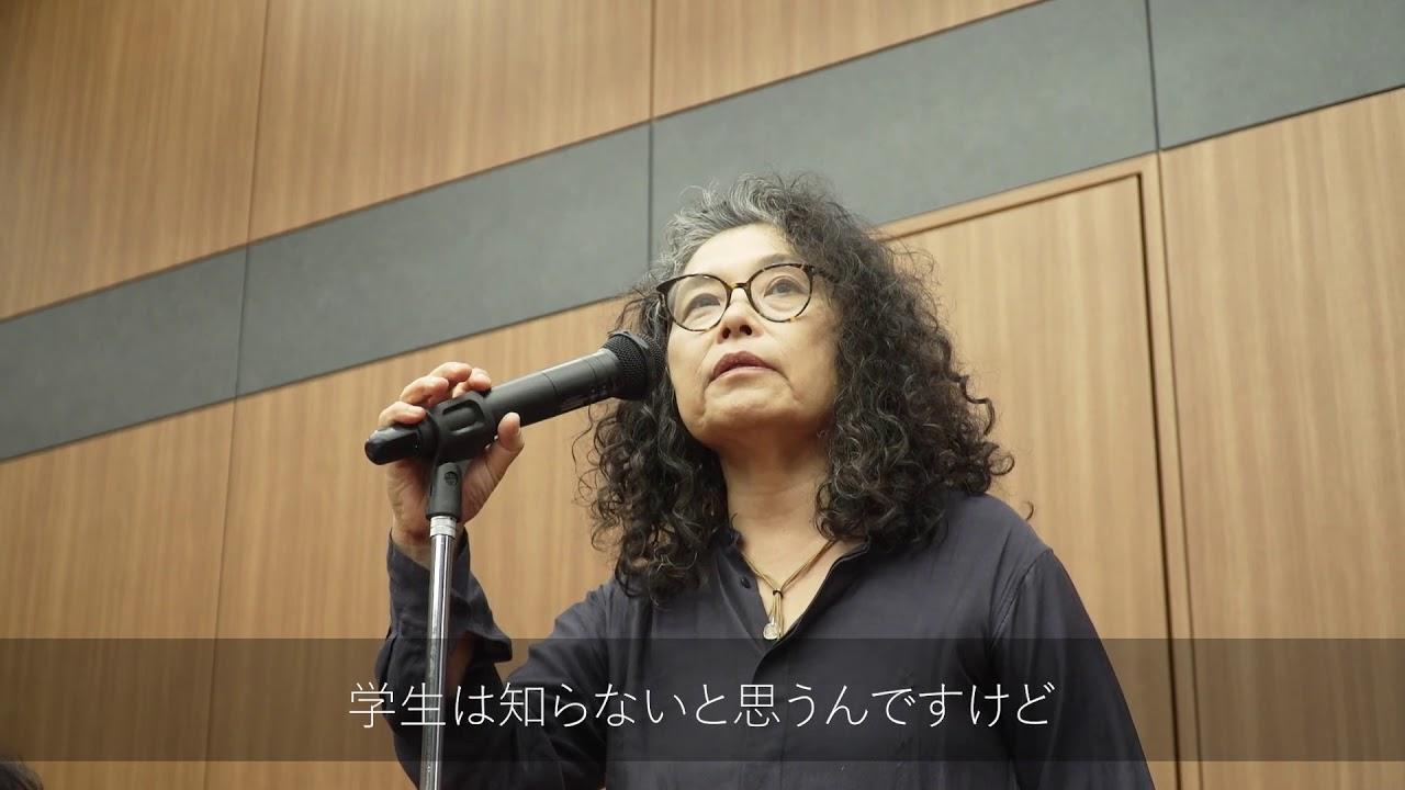 第2回種田山頭火賞受賞詩人による般若心経の力強いパフォーマンス