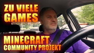 Zu viele Games | Minecraft Community Projekt | Rage 2 | Observation | Vlog Deutsch thumbnail