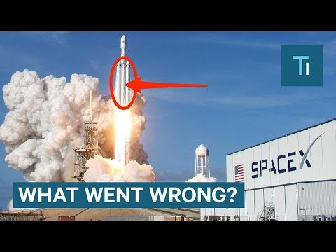 Elon Musk On What Went Wrong With SpaceX's Falcon Heavy Flight