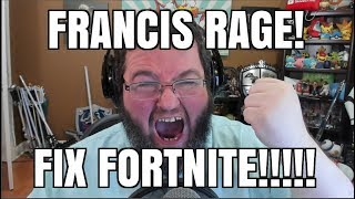 Francis Says: Fix Fortnite On Switch! Playstation Needs Crossplay For Fortnite!