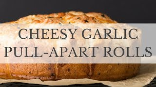 Cheesy Garlic Pull Apart Rolls Recipe