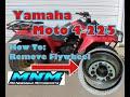 Video 3/7 Yamaha Moto 4 225 Engine Motor Tear Down Split Case Cylinder Head Transmission Yoke