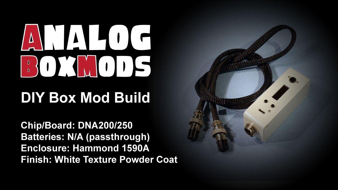 DNA 200/250 DIY Box Mod (Pthrough) Build on