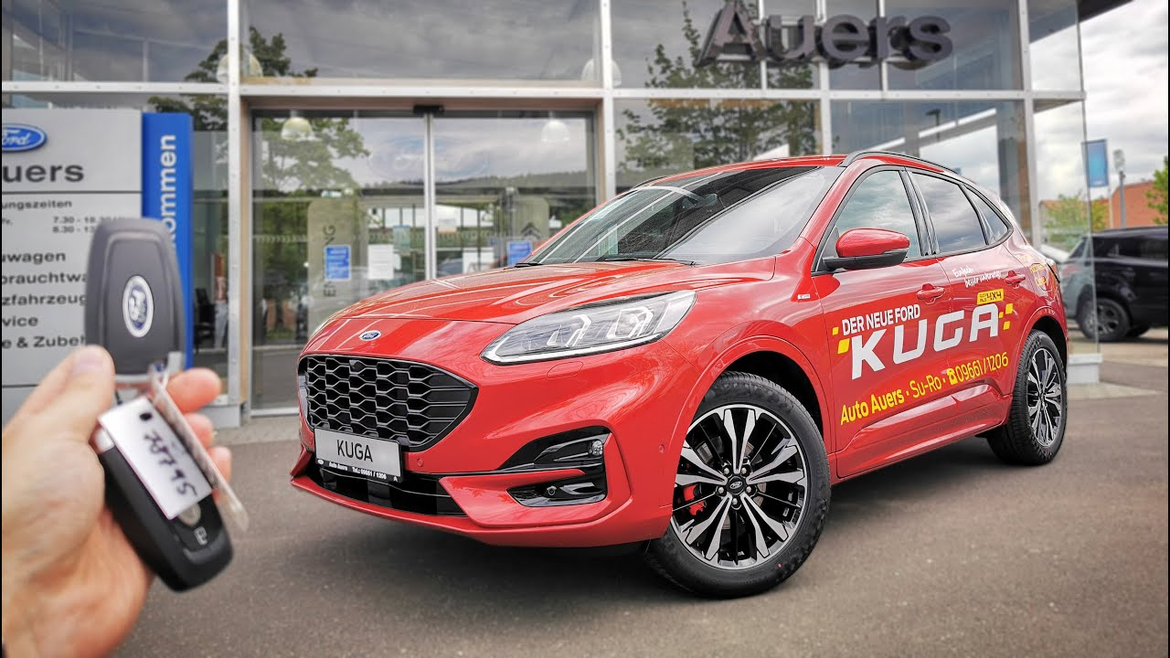 2020 Ford Kuga 1 5 Ecoboost 150 Hp St Line X Youtube