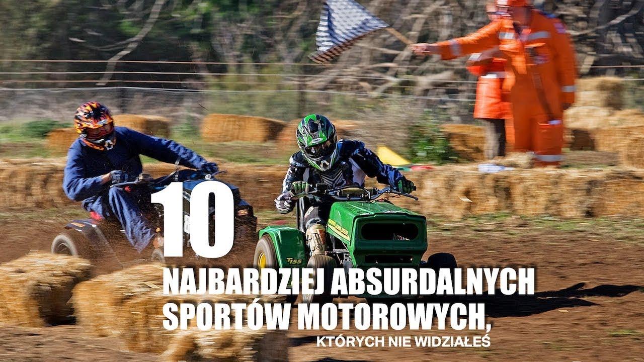10 najbardziej absurdalnych sportów motorowych, których nie widziałeś – #108 TOP10