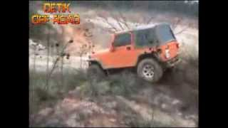 "VIDEO OFF ROAD EXTREME 4X4 ; OFF ROAD JEEP CJ7 ""Terbalik Keras Dari Atas Bukit"" OFF ROAD CRASH"