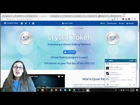 Crystal Token Review - Staking, Lottery, and Trading as a Service