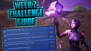 Season 6, Week 2 | Fortnite Week 2 Challenges Easy Guide (Week 2 Battle Pass) - Fortnite