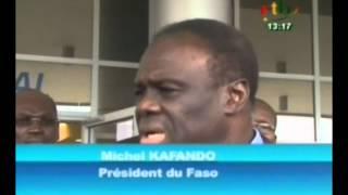 RTB/Politique-Le chef de l'Etat  a visite? des infrastructures en Guine?e Equatoriale