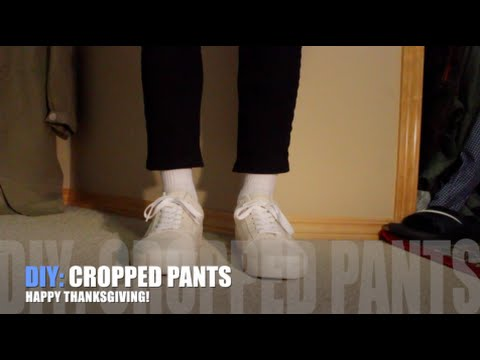 DIY: Cropped Pants!