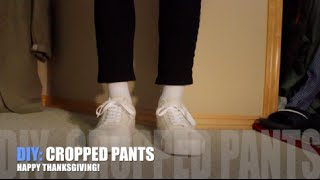 DIY: Cropped Pants!