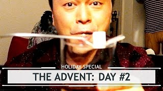 The Advent: Day #2, The Absinthe Virgin & His Bad Lighting
