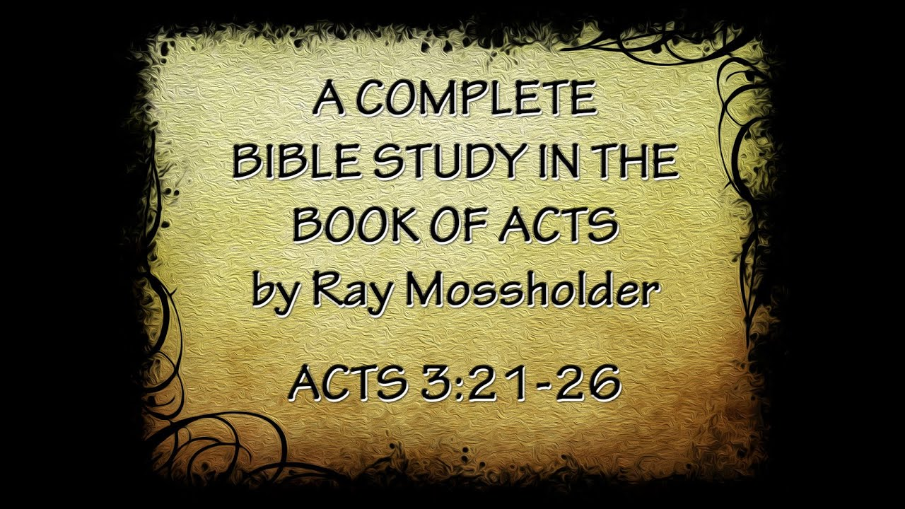Acts 321 26 Youtube