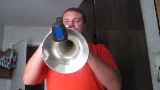 как играть на трубе? Настройка духового инструмента. Настройка трубы