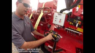 Knuckle Boom PK32080 Basic Operation and Setup - Oilfield Frac Trailer