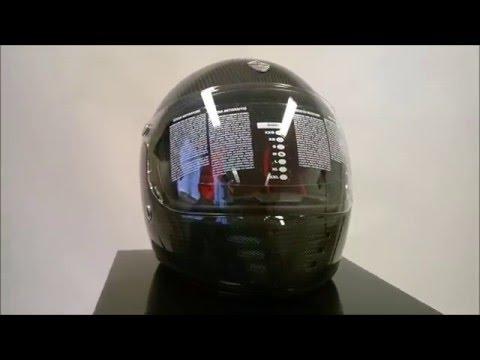 Gpa Helmet Pure Carbon From Euronetbikenet Youtube