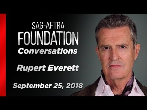 Conversations with Rupert Everett