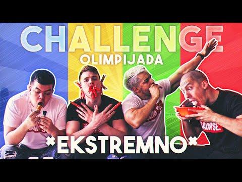 CHALLENGE OLIMPIJADA #1 *ekstremni izazovi* - /w Choda, Pilav, Delic