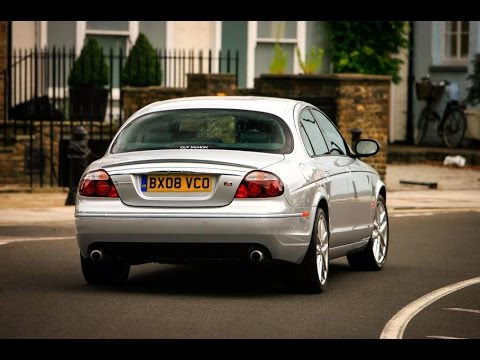 Brutal Jaguar S Type R 42 V8 Exhaust Sound Compilation Youtube