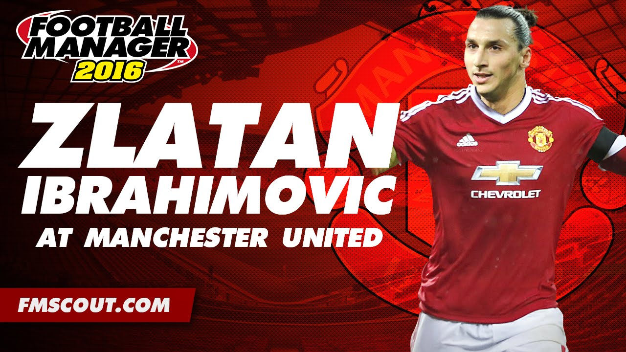 Wallpaper Man Utd Hd Zlatan Ibrahimovic At Manchester United Football Manager