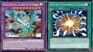 YGOPRO Super Polymerization Deck World Chalice Guardragon Almarduk OTK