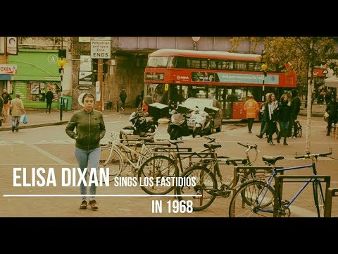"""(Los Fastidios) ELISA DIXAN Sings LOS FASTIDIOS - """"In 1968"""" (Official Videoclip - 2019)"""