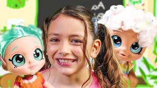 Kindi Kids and Zoey Help Ashlynn Feel Better on her First Day of Kindergarten