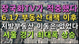 장국화TV 또 적중 - 6 17 부동산 대책이후 서울 …