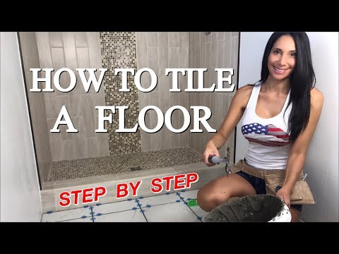 How to Tile a Floor: Step by Step Instructions