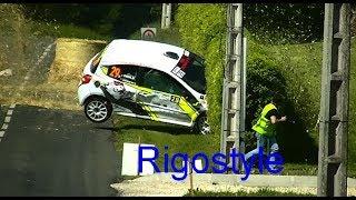 Rallye Ain jura 2018 Crash, on the limit ! By Rigostyle