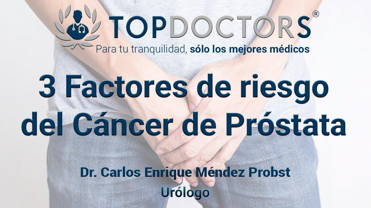 Cancer de prostata riesgos