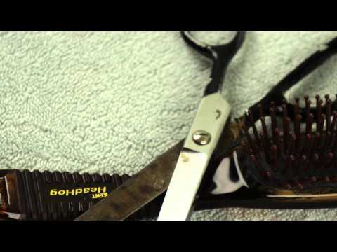 Receiving a hair cut - binaural 3D audio