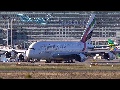 Emirates - Airbus A380-861 A6-EDK - Takeoff from Frankfurt am Main EDDF/FRA