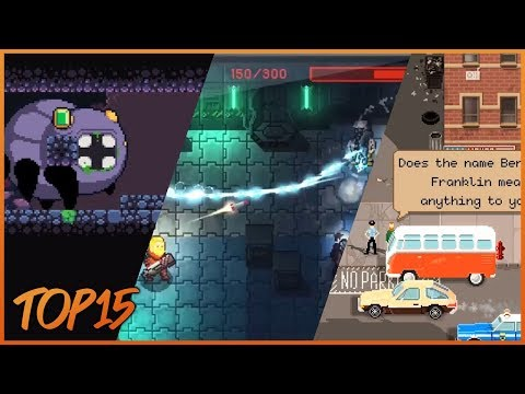 Top 15 Pixel-Art Games To Play 2019  (Android, IOS)