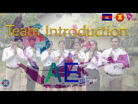 The 4th AFMAM 2018 -Team Agricultural Engineer- Cambodia