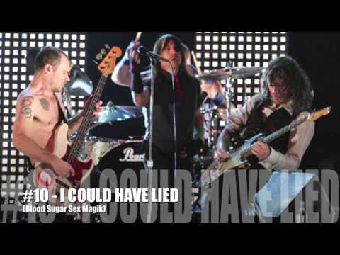 My Top 50 Red Hot Chili Peppers Songs (#25-1)