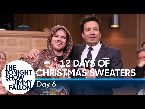 12 Days of Christmas Sweaters 2019:Day 6