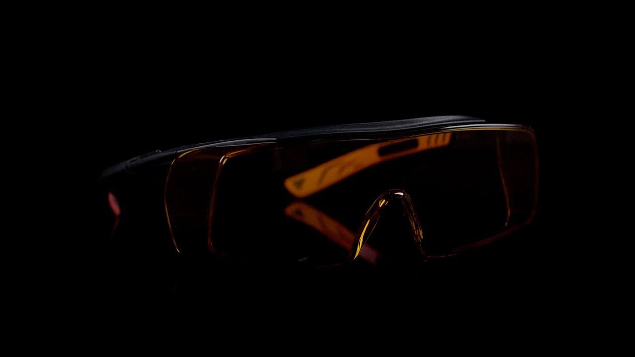 NoCry Blue Light Blocking Over Glasses Safety Glasses