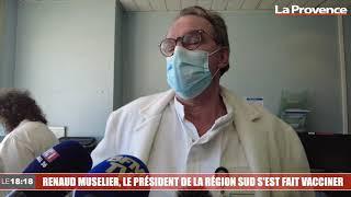 Renaud Muselier, le président de la Région Sud, s'est fait vacciner