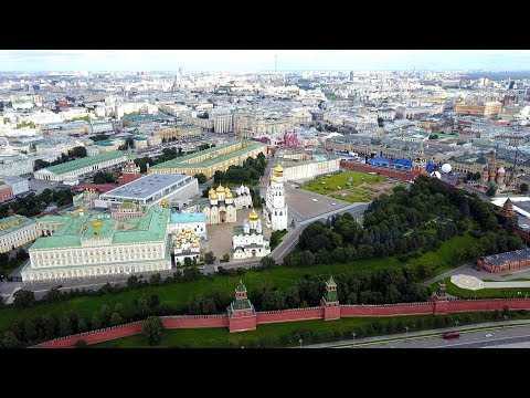 The Kremlin (Great view from the sky!)