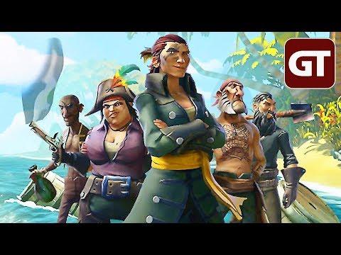 Heut geht es an Bord! - Sea of Thieves-Livestream mit der GameTube-Crew