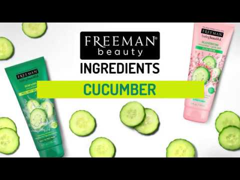 Freeman Beauty Ingredients - Cucumber