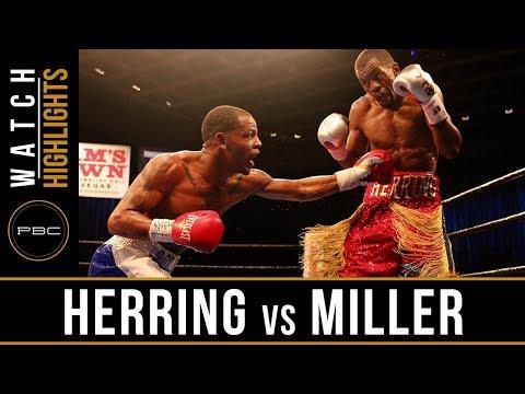 Herring vs  Miller HIGHLIGHTS: August 22, 2017 - PBC on FS1