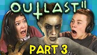 GET TO THE ELEVATOR!!! | OUTLAST 2 - Part 3 (React: Gaming)
