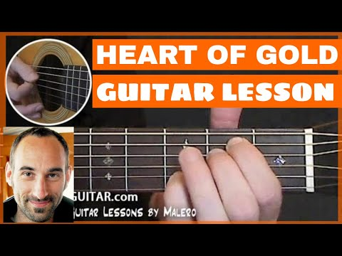 Heart Of Gold Guitar Lesson - part 1 of 5
