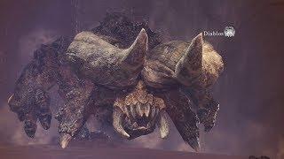 Monster Hunter World: Diablos Boss Fight #16 (Solo / Hammer)